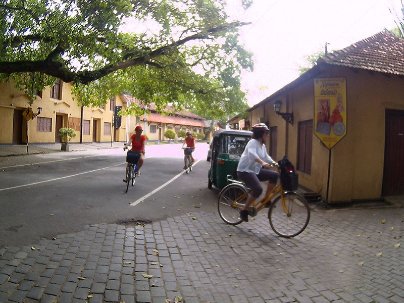 Cycling in Galle Fort, Galle Fort Cycling Tour, Cycling Tours in Galle Fort